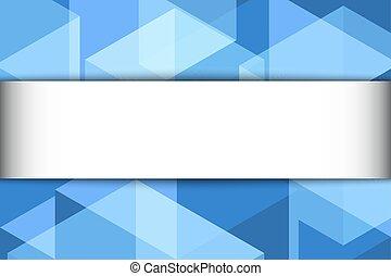 azul verde, abstratos, fundo, com, espaço cópia