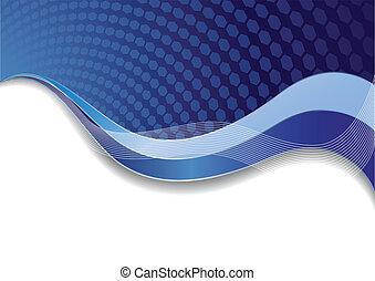 azul, vetorial, modelo, textura
