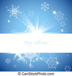azul, vetorial, natal, fundo