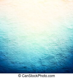 azul, vindima, cartaz
