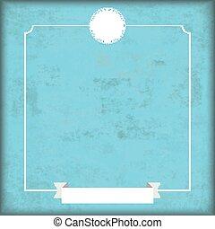 azul, vindima, cyan, cobertura