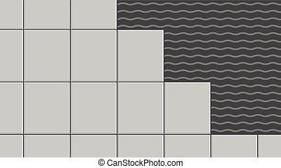 azulejo, adesivo
