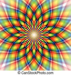 azulejo, arco íris