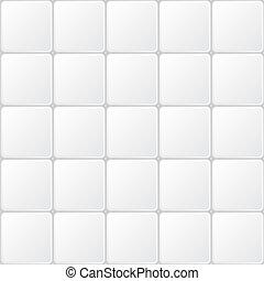 azulejo, blanco