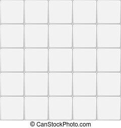azulejo, branca