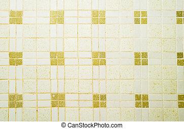 azulejo, cerâmico, textura