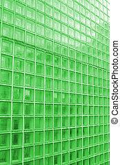 azulejo, claro, verde