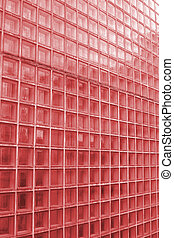 azulejo, claro, vermelho