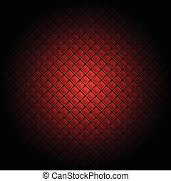 azulejo, experiência vermelha