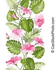 azulejo floral, lineal, design.