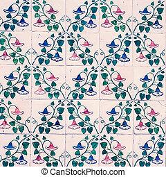 azulejo, fond