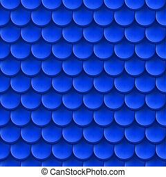 azulejo, fondo., techo