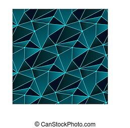azulejo, padrão, linha, eamless