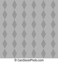 azulejo, padrão, vetorial, cinzento