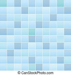 azulejo, patrón, cuarto de baño
