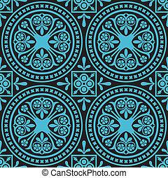 azulejo, patrón