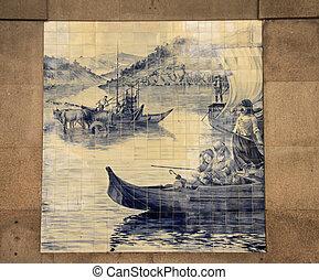 Azulejo (porcelan tile)