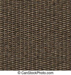 azulejos, direction., material.this, vime, seamless, padrão, tecido, qualquer