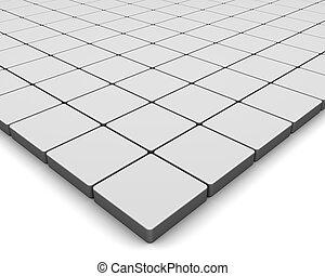 azulejos, em branco