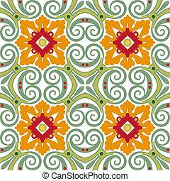 azulejos florais, antigas