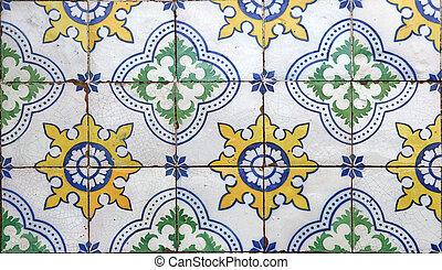 azulejos, lisbonne