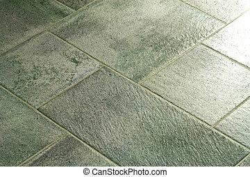 azulejos, pavimentando