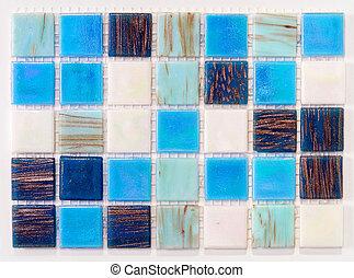 azulejos, piscina
