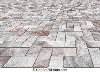 azulejos, piso de mármol