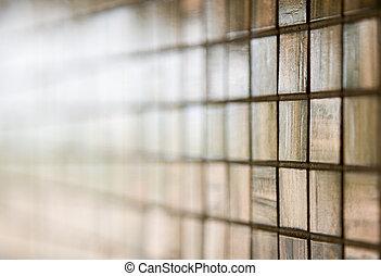 azulejos, piso, pared, moderno, /, vidrio, mosaico