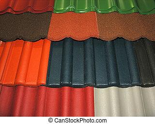 azulejos, telhado