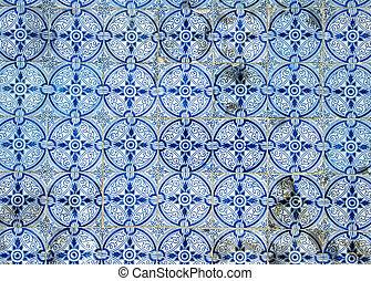 Azulejos, traditional Portuguese tiles