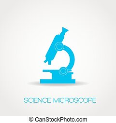Azure microscope icon