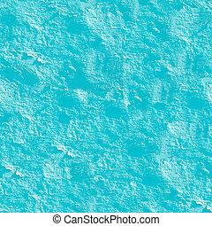 Azure stucco seamless background.