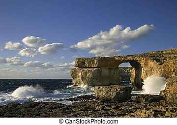 Azure Window, Gozo, Malta - Travel attraction on Gozo...