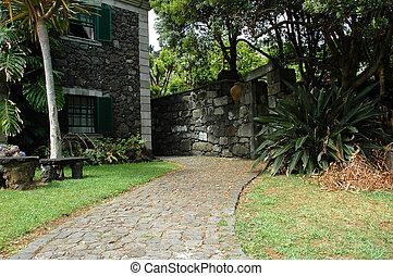 azzorre, estate, cottage