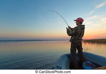 bábu halfajták, képben látható, a, tó