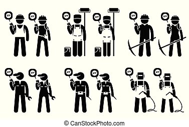 bányászás, mozgatható, szerkesztés, munkás, jobs., -eik, építők, használ, ipari, app