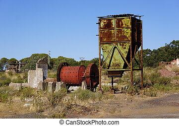 bányászás, tharsis, terület