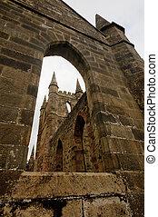 bástya, gót, középkori