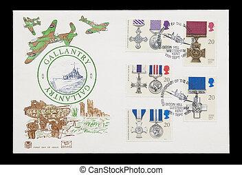 bátorság, brit, medals