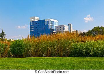 bâtiment, affaires modernes