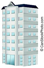 B timent appartement illustration copropri t for Conception 3d appartement