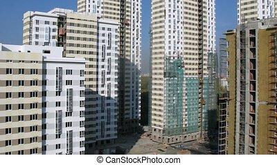 bâtiment, bâtiments, stands, ascenseurs, beaucoup, défaillance, site, temps, aller, nouveau