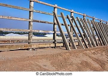 bâtiment, barrière