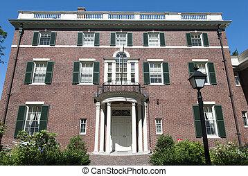 bâtiment,  boston, historique
