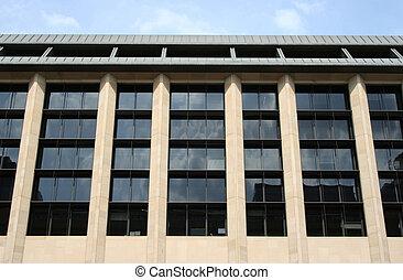 bâtiment bureau, détail