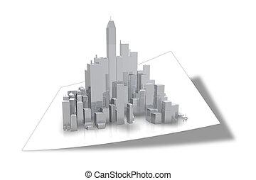 bâtiment, business