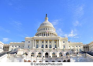 bâtiment, capitol hill