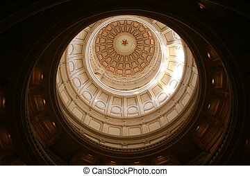 bâtiment, capitole, en ville, état, texas, austin