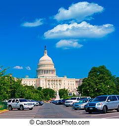 bâtiment, capitole washington, usa, dc